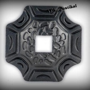 Artikel-Nr. 16-071 Wandrosette 100×100 mm, 20×20 mm
