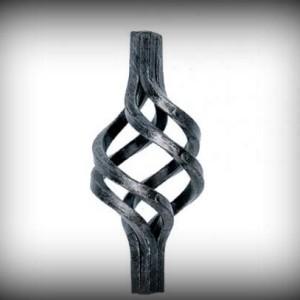 Artikel-Nr. 09-012 Zwirbel, Korb 140×65 mm