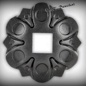 Artikel-Nr. 16-051 Wandrosette Ø 112 mm, 13×13 mm