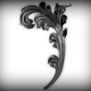 Artikel-Nr. 04-169 Zierblatt 230×135 mm