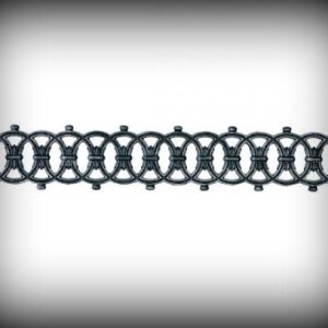 Artikel-Nr. 10-165 Zierornament 150×870 mm Schmiedeeisen