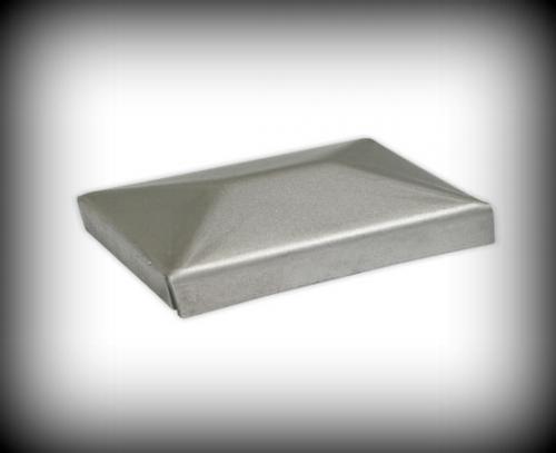 10x Runde Pfostendeckel Pfostenkappen aus Kunststoff Tor Pforte Ø48,3mm 1 1//2/'/'