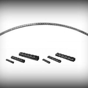Artikel-Nr. 11-131 Torbogen aus Profilrohr 30×30×2 mm, Länge 950 mm