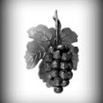 Artikel-Nr. 17-118 Weintraube 180×120 mm