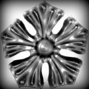 Artikel-Nr. 05-053 Zierblume Ø 85 mm