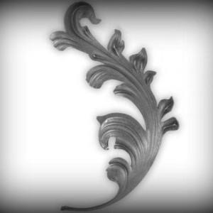 Artikel-Nr. 04-166 Zierblatt 295×175 mm