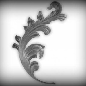 Artikel-Nr. 04-167 Zierblatt 295×175 mm