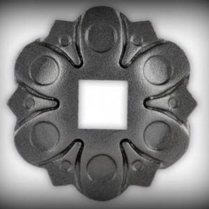 Artikel-Nr. 16-052 Wandrosette Ø 112 mm, 15×15 mm