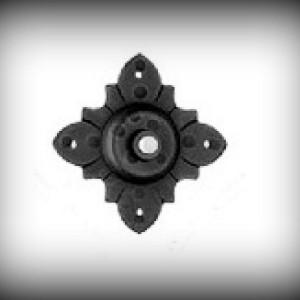 Artikel-Nr. 24-1069 Türklingel 75×75 mm, verzinkt
