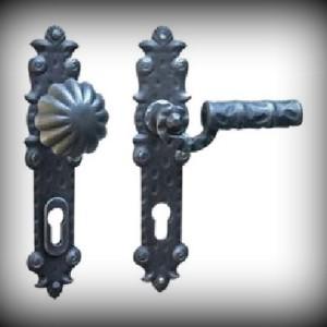 Artikel-Nr. 24-355 Türdrückergarnitur mit Sicherheitsrosette