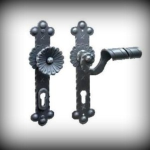Artikel-Nr. 24-353 Türdrückergarnitur mit Sicherheitsrosette