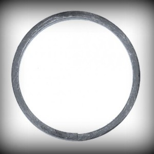 Artikel-Nr. 08-019 Ring, Zierring 12×6 mm, Ø 75 mm