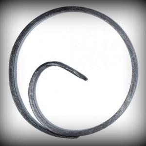 Artikel-Nr. 08-039 Ring, Zierring 12×6 mm, Ø 100 mm