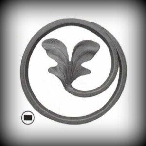 Artikel-Nr. 08-052 Ring, Zierring 12×6 mm, Ø 120 mm