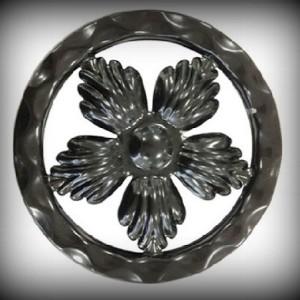 Artikel-Nr. 08-070 Ring gehämmert, Zierring 12×12 mm, Ø 120 mm