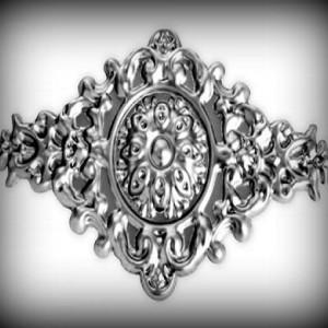 Artikel-Nr. 17-053 Zierornament 270×470 mm