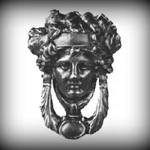 Artikel-Nr. 17-196 Türklopfer, Zierornament 138×193