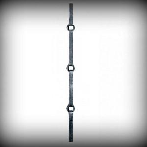 Artikel-Nr. 20-268 Lochstab 14×14 mm, 2000 mm