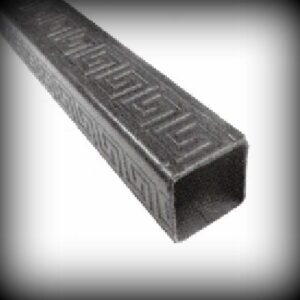 Artikel-Nr. 21-630 Profilrohr 30×30 mm mit Muster Länge 1000 bis 2000 mm