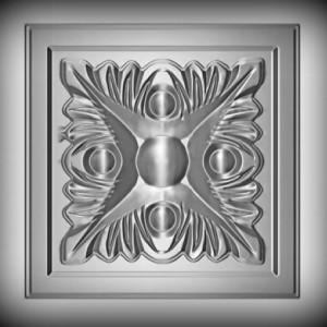 Artikel-Nr. 17-015 Zierornament 100×100 mm