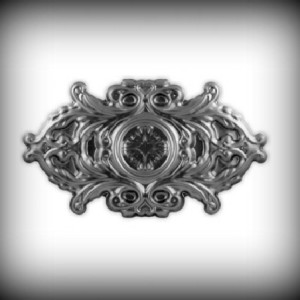 Artikel-Nr. 17-038 Ornament 240×410 mm