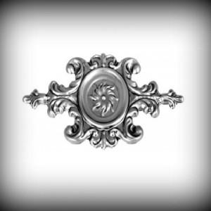 Artikel-Nr. 17-047 Ornament 170×340 mm