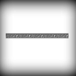 Artikel-Nr. 17-096 Zierornament 72×1000 mm