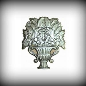 Artikel-Nr. 17-391 Ornament 465×375 mm Schmiedeeisen