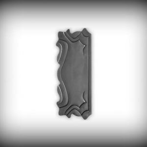 Artikel-Nr. 24-130 Schlossplatte 295×135 mm