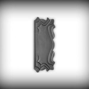 Artikel-Nr. 24-131 Schlossplatte 295×135 mm