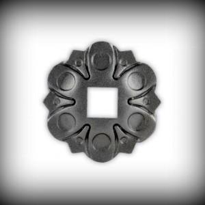 Artikel-Nr. 16-054 Wandrosette Ø 112 mm, 21×21 mm