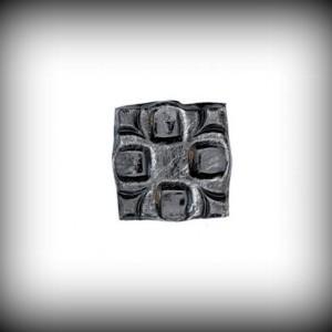 Artikel-Nr. 16-088 Wandrosette 70×70 mm, 6 mm