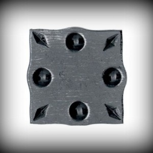 Artikel-Nr. 16-090 Wandrosette 100×100 mm