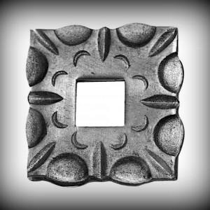 Artikel-Nr. 16-092 Wandrosette 90×90 mm, 26×26 mm