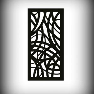 Artikel-Nr. 27-003 Motivwand, Sichtschutz, Laser cut 2000×1000 mm