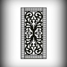 Artikel-Nr. 27-004 Motivwand, Sichtschutz, Laser cut 2000×1000 mm