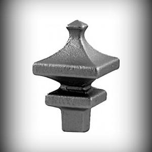 Artikel-Nr. 12-201 Zaunspitze 115×70 mm, 23×23 mm