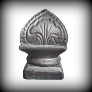 Artikel-Nr. 14-158 Pfostenaufsatz 80×80 mm