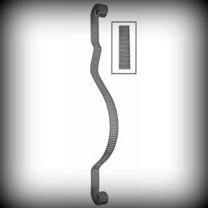ARTIKEL-NR. 01-053 STAB 900×155 MM, 30×5 mm