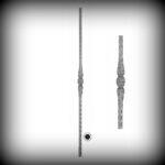 ARTIKEL-NR. 02-032 STAB 900 MM,12×12 MM