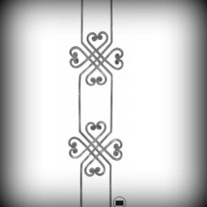 ARTIKEL-NR. 02-193 ZAUNSTAB 900×250 MM