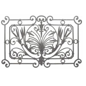 ARTIKEL-NR. 11-128 ZAUNELEMENT 1500×940 MM, Profil 16×16 mm