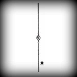 ARTIKEL-NR. 02-056 STAB 900 MM, 12×12 MM