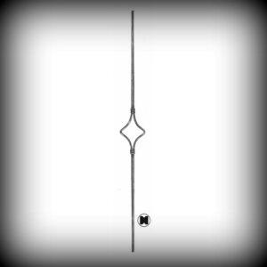 ARTIKEL-NR. 02-060 STAB 900 MM, 12×12 mm