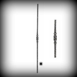 ARTIKEL-NR. 02-082 STAB 900 MM, 12×12 MM