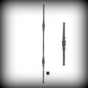 ARTIKEL-NR. 02-083 STAB 900 MM, 12×12 MM
