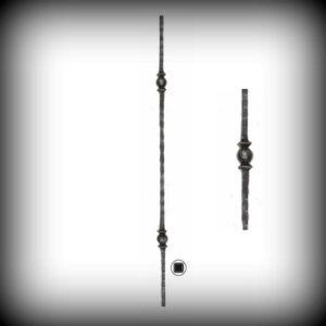 ARTIKEL-NR. 02-099 STAB 1000 MM, 12×12 MM